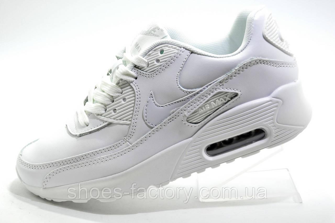 Женские белые кроссовки в стиле Nike Air Max 90, White