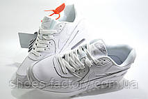 Женские белые кроссовки в стиле Nike Air Max 90, White, фото 3