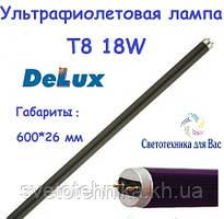 Люминесцентная лампа ультрафиолетовая Delux Т8 18W G13