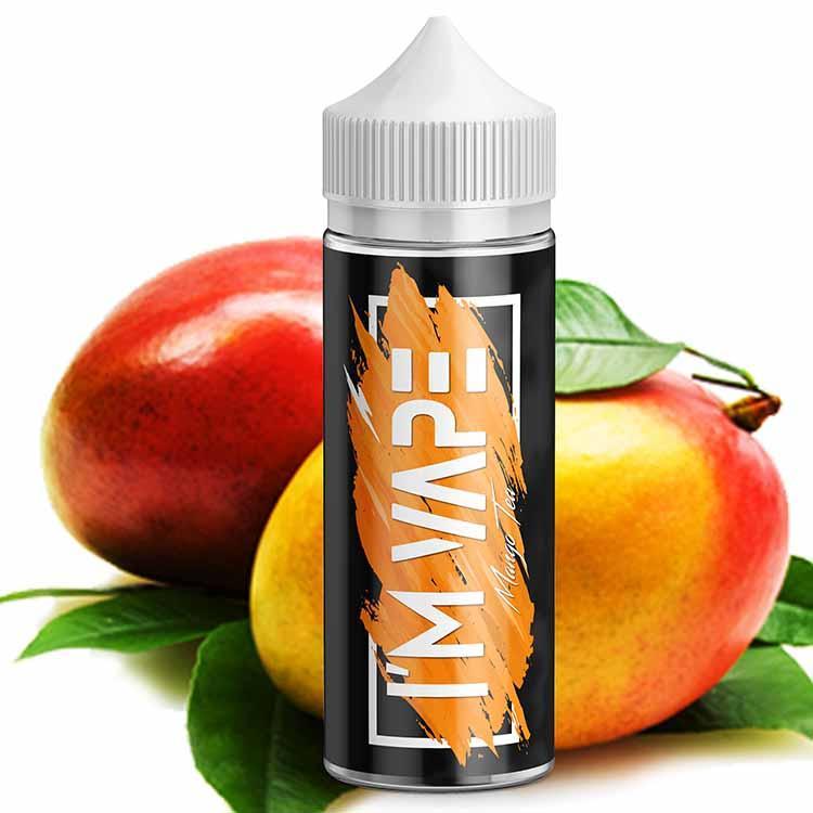 I'М VAPE Mango Tea 120 мл Жидкость для Электронных сигарет (Заправка для вейпа)