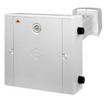 Газовий котел Геліос АКГВ 10 кВт лівий двуконтурний