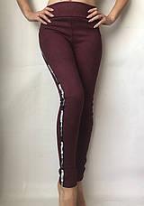 Замшевые лосины (42-48) № 76 бордовый, фото 2