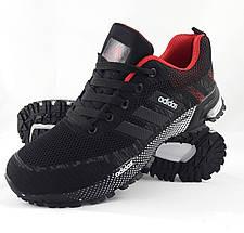 Мужские Кроссовки Adidas Fast Marathon Чёрные Адидас (размеры: 41,42,43,44,46) Видео Обзор, фото 3