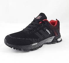 Мужские Кроссовки Adidas Fast Marathon Чёрные Адидас (размеры: 41,42,43,44,46) Видео Обзор, фото 2