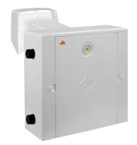 Газовый котел Гелиос АКГВ 10 кВт правый двухконтурный