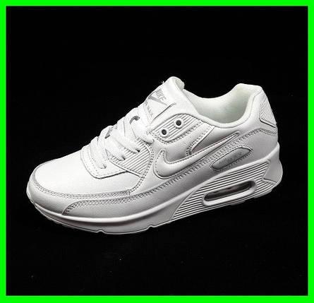 Кроссовки Женские Nike Air Max 90 Белые (размеры: 37,38,39,40,41) Видео Обзор, фото 2