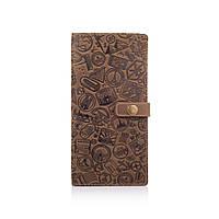 """Красивый кожаный тревел-кейс оливкового цвета, коллекция """"Let's Go Travel"""", фото 1"""