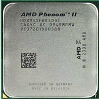Процессор, AMD Phenom II X4 945, 3.0GHz/6MB, HDX945FBK4DGI, socket AM3, фото 1