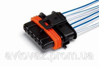 Колодка к электронной педали акселератора ВАЗ 2170 Приора, Daewoo, Chevrolet, с проводами