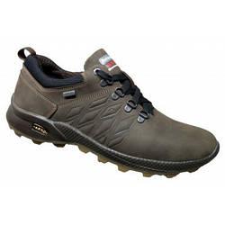 Мужские туфли кожа спортивные 39-46 крейзи коричневый