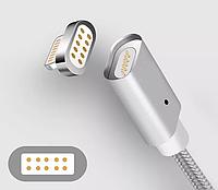 Магнитный кабель в оплетке 1м / micro usb ИЛИ type C или iPhonе, фото 1