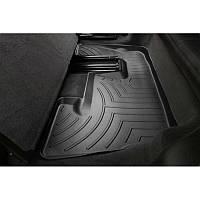 Коврики резиновые Audi Q7 2006-2014 3 ряд черные   Автоковрики WeatherTech 441513
