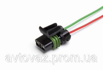 Разъем электродвигателя отопителя ВАЗ 2170 Приора с проводами