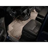 Коврики Honda Odyssey 2007- бежевые, передние с бортиком | Автоковрики WeatherTech 453171
