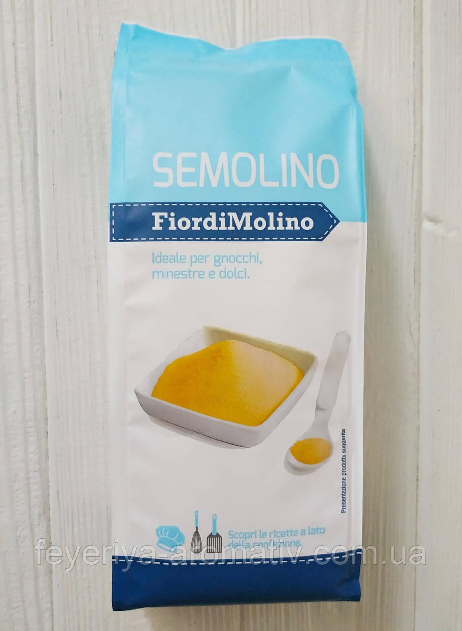 Манная крупа из твердых сортов пшеницы Semolino Fiordi Molino 500 (Италия)