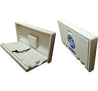 Горизонтальный пеленальный столик NOFER (на стену), до 30 кг, антимикробная защита, ДШГ 90.2х55.9х88.5 см
