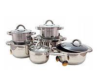 Набор посуды 9-слойное дно Edenberg EB-4013 12 предметов