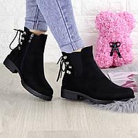 Ботиночки женские черные Shirley 1284