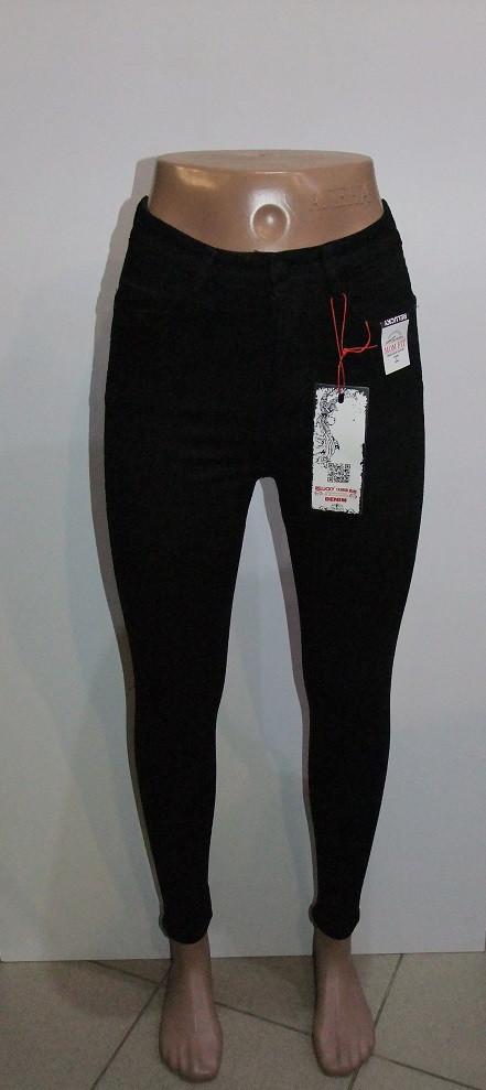 Джинсы женские американки   арт 816-1 черные ,без рисунка 25 р.