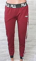 """Спортивные штаны женские FILS на манжетах, размеры 42-48 (4цв) """"IMPULSE"""" недорого от прямого поставщика"""