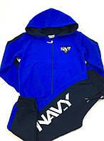 Спортивный костюм для мальчика Breeze NAVY, синий (р.104)