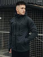Куртка мужская демисезонная softshell grafit