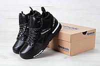 Кроссовки зимние черные Reebok GL6000 High