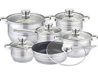 Набор посуды Edenberg из 12 предметов EB-4039M  5-слойное дно