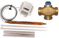 Трехходовой термостатический клапан HERZ Ø25 регулируемый 40-70°C