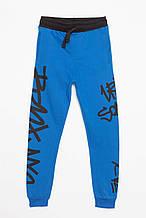 Детские спортивные штаны для мальчика Young Reporter Польша 193-0117B-10-480-1 Синий весеннии осенью