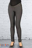 Узкие брюки для беременных Мягкий пояс (джинсовый трикотаж)
