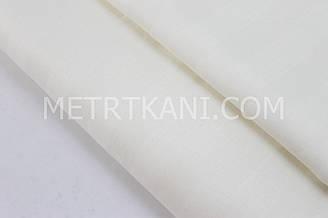 Сатин страйп ванильного цвета, ширина 220 см №578