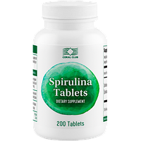 Спирулина в таблетках Spirulina Tablets
