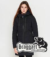 Зимняя курточка женская синяя Braggart 25435G