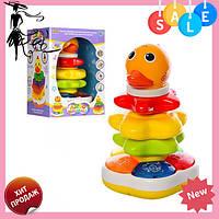 Детская игра 7040 | чудо - пирамидка для ребенка | детская игрушка | детская яркая, развивающая пирамидка