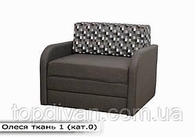 """Дитячий диван """"Олеся"""" (тканина 1) Габарити: 1,07 х 0,95 Спальне місце: 1,80 х 0,90"""