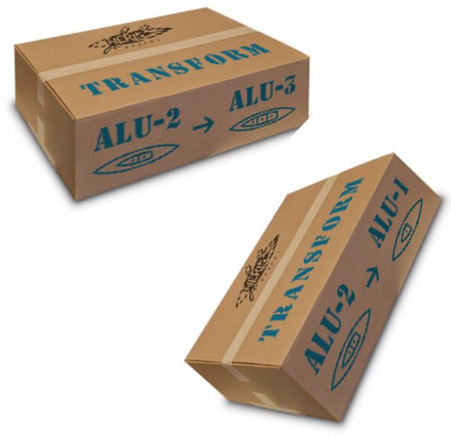 Комплекты трансформации байдарок серии Alu
