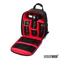 Рюкзак Indepman Fabric для фотоаксессуаров (black)