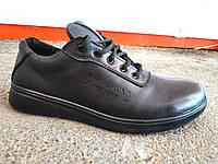 Туфли спортивные мужские кожаные 40 -45 р-р, фото 1