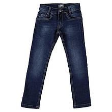 Демисезонные детские джинсы для мальчика iDO Италия 4 R850 / 00 синий