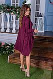 Утепленное платье двойка  / ангора с начесом / Украина 6-908, фото 8