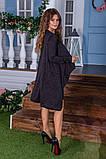 Утепленное платье двойка  / ангора с начесом / Украина 6-908, фото 6