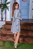 Утепленное платье двойка  / ангора с начесом / Украина 6-908, фото 7