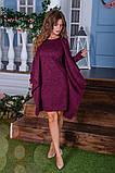 Утепленное платье двойка  / ангора с начесом / Украина 6-908, фото 5