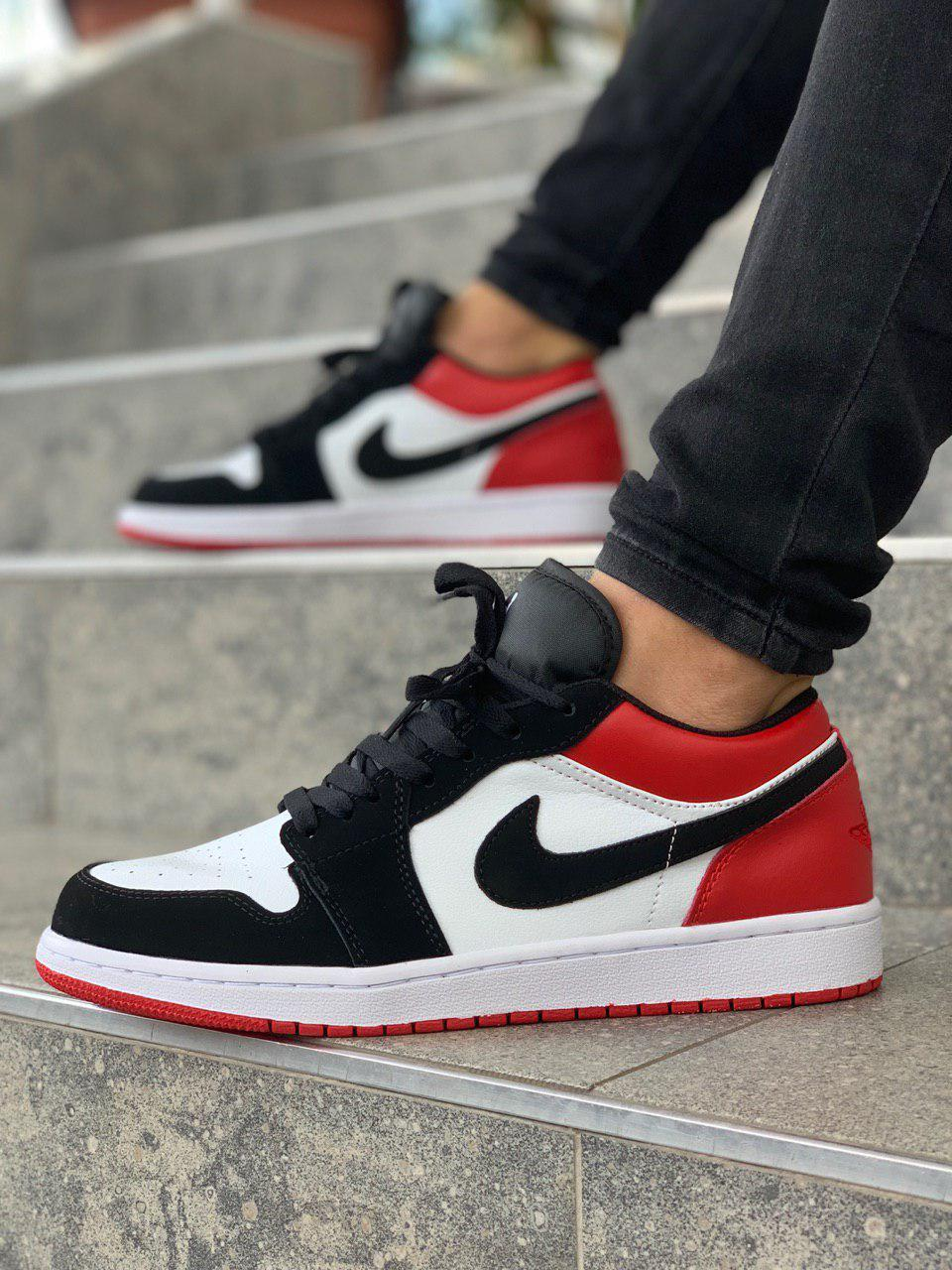 Чоловічі кросівки Nike Air Jordan 1 Retro Low, Репліка