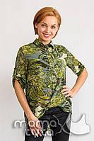 Блуза для беременных и кормящих мам Аглая