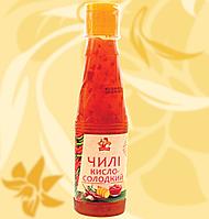 Соус кисло-солодкий чилі, соус кисло-сладкий чили, 200г, Ямчан, Ю