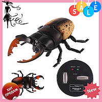 Радиоуправляемый жук Олень 9996-E | игрушка на радиоуправлении | насекомые для детей, фото 1