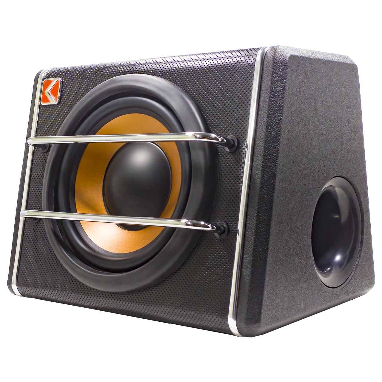 """Сабвуфер 8"""" KUERL K-T8 максимальная мощность звука 600 Вт для автомобиля с усилителем"""