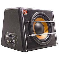 """Сабвуфер 8"""" KUERL K-T8 максимальная мощность звука 600 Вт для автомобиля с усилителем, фото 3"""